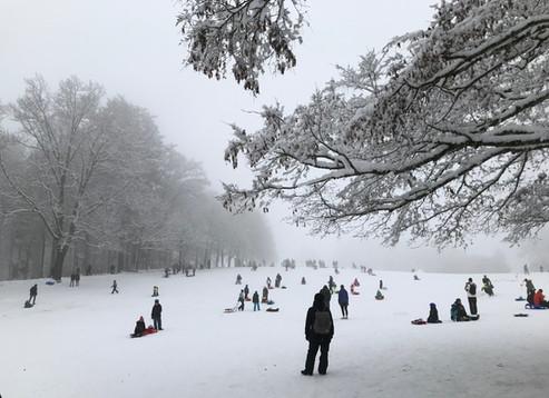 Corona-Winter, Gurten, Bern