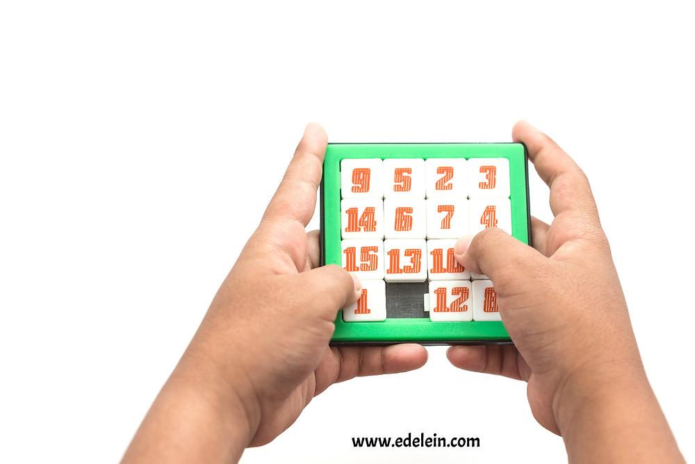 Number Slide Puzzle - STEAM