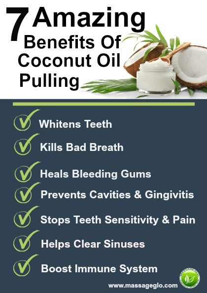 7 Amazing Benefits of Coconut Oil Pulling