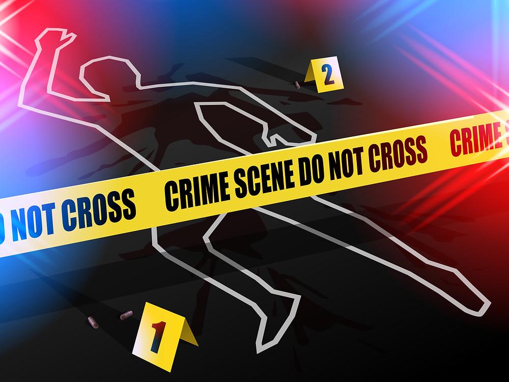 Fast Food Crime Scnene Do Not Cross