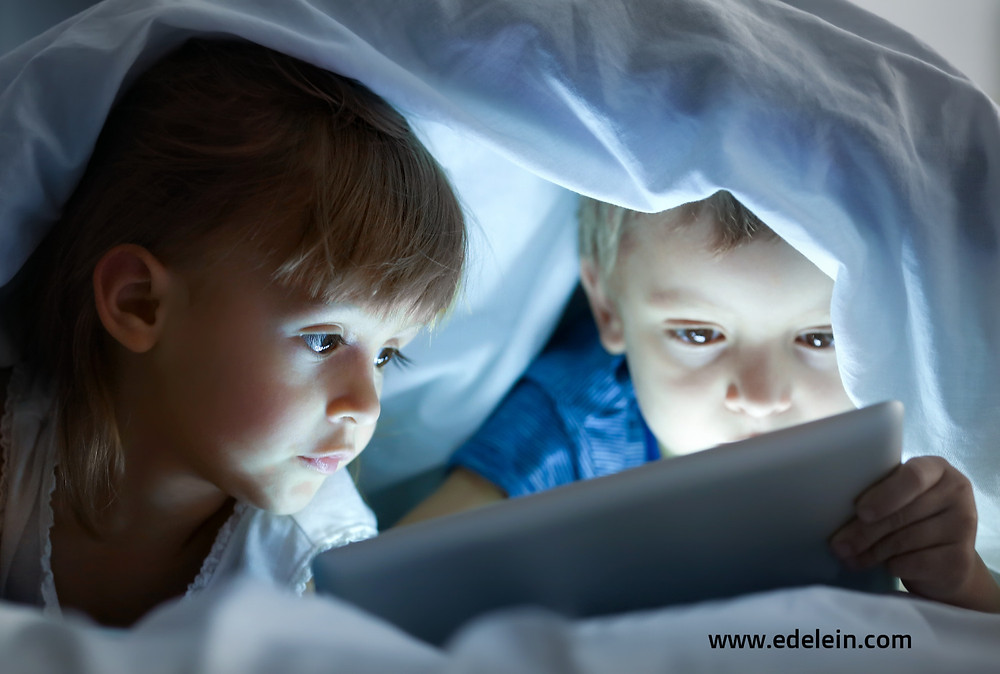 How much screen time is OK for our children?