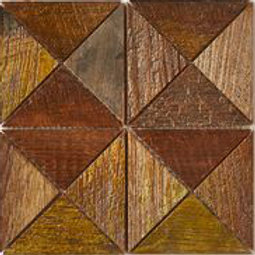 Emma Teak Tile in Patina. Prices are Per Square Foot
