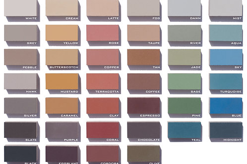 Color Palette for Cement Tiles