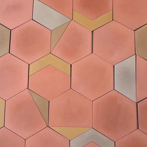 Terracotta and Arrow Cement Tiles. Prices are Per Square Foot