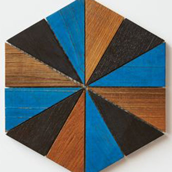 Hex Teak Tile Custom Colors. Prices are Per Square foot.