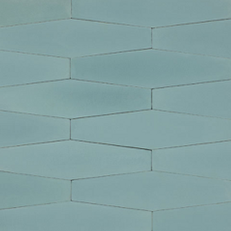 Long Hex Cement tiles. Prices are Per Square Foot