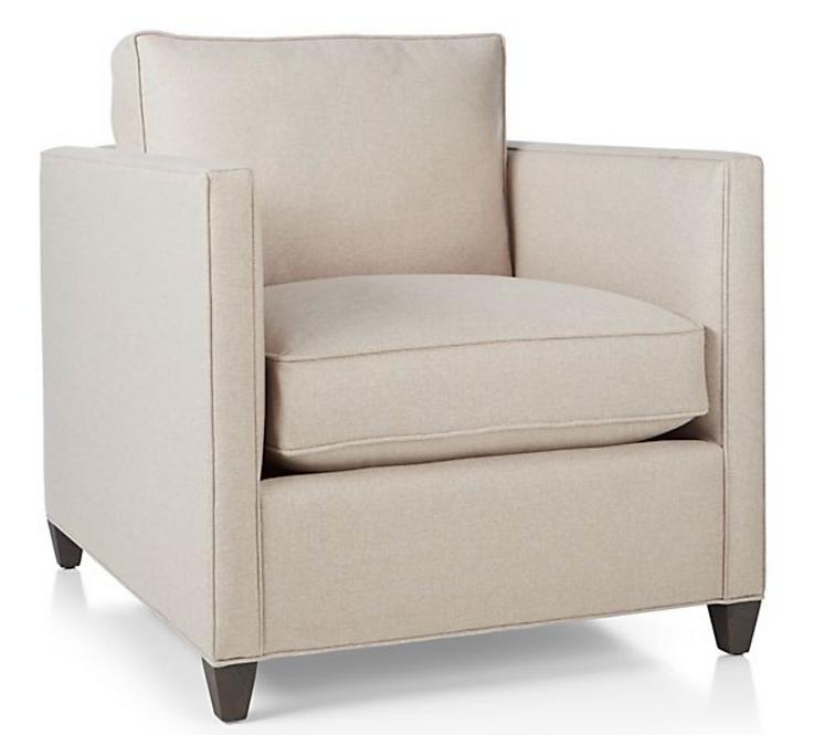 Dryden chair flax