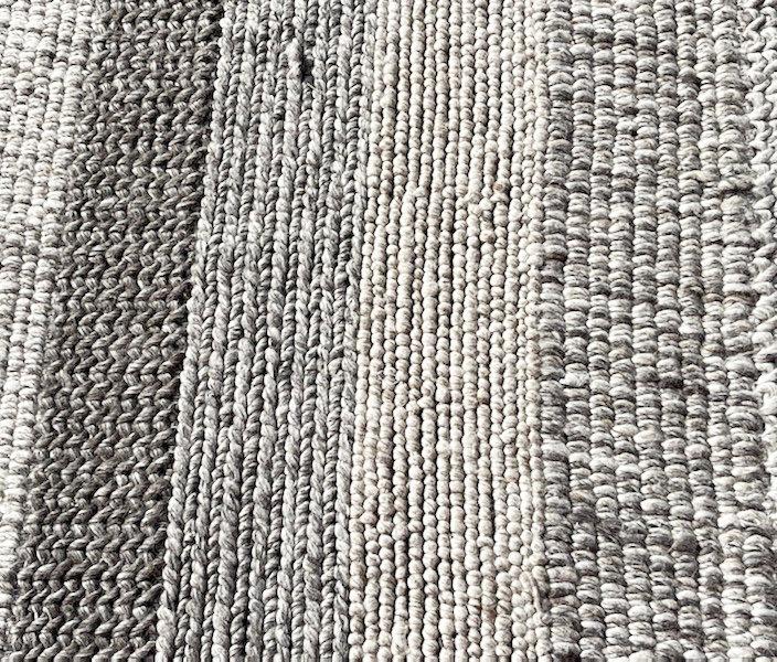 Modern wool rag