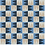 "Thumbnail: Aarhaus Cement tile in 8""x8""  white/latte/midnight/sky. Prices are Per Square Fo"