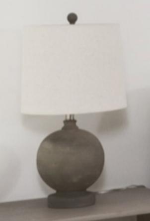 concrete bulb lamp