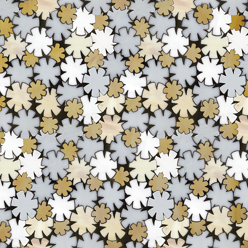 Flowers Mosaics. Prices are Per Square Foot.