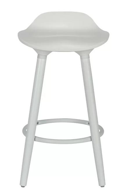 white stools