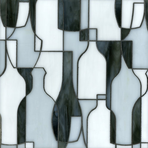 Bottles Custom Mosaic. Prices are per Square Foot.