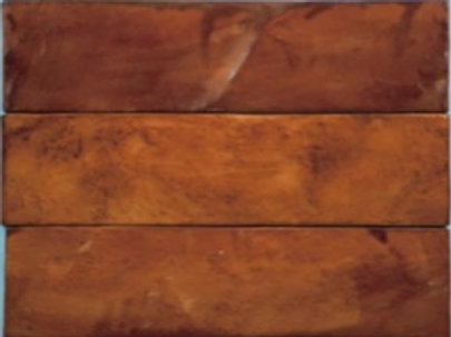 """Tempered Collection in Corona Leather 3""""x11.75"""". Prices are Per Square Foot"""