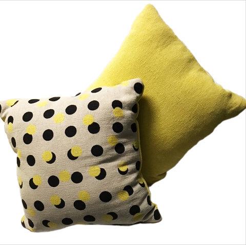 polka pillow