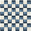 """Thumbnail: Shara Cement Tile in 8""""x8"""".midnight/sky/latte/white. Prices are Per Square Foot"""