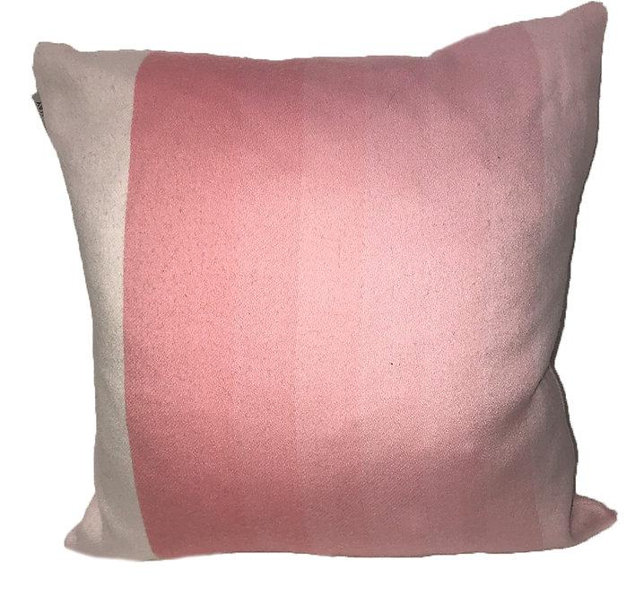 triple pink pillow