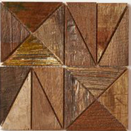 Amy Teak Tile in Patina. Prices are Per Square Foot