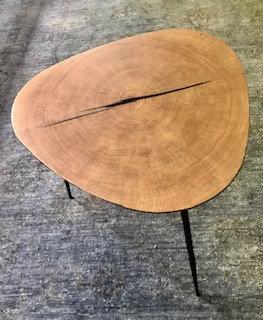Oakey side table