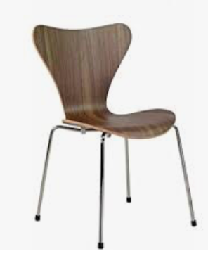 scoop back chair