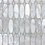 Thumbnail: Oval Scale  White Carrara Polished. Prices are Per Square Foot
