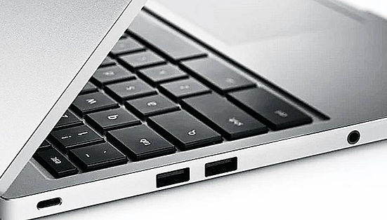 chromebook pixel google with ports