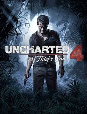 uncharted 4 a thief's end game cover