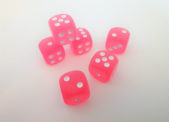 Red Hot Farkle - Frosted Pink Edition