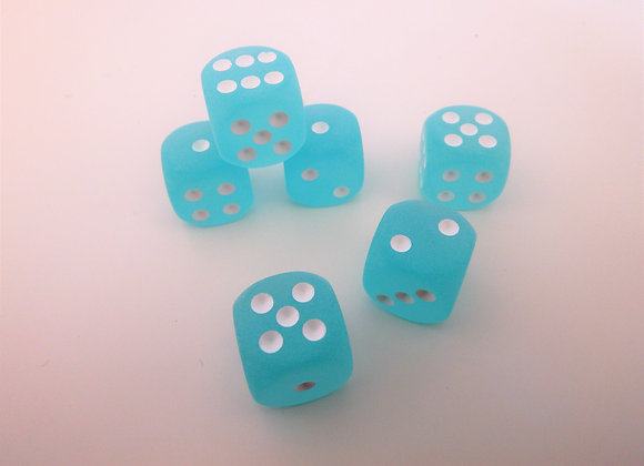 Red Hot Farkle - Frosted Blue Edition