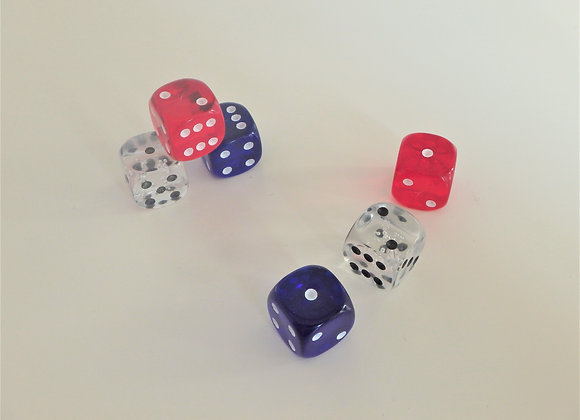 Red Hot Farkle - Red, White & Blue Gem Edition