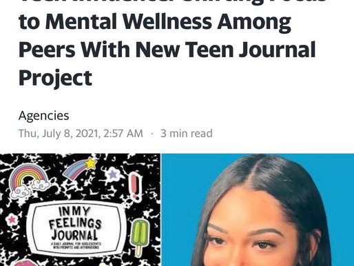 Teen Influencer Shifting Focus to Mental Wellness Among Peers With New Teen Journal Project