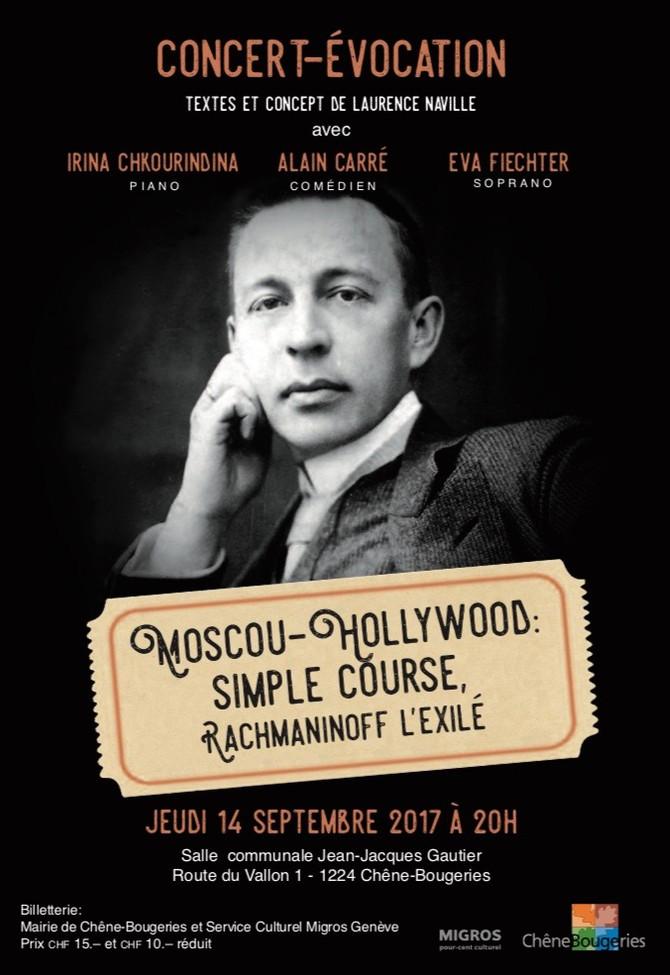 Moscou-Hollywood: Simple course, Rachmaninov l'exilé
