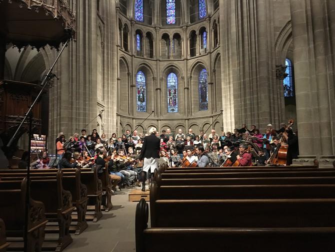 Lobgesang at the Geneva Cathedral