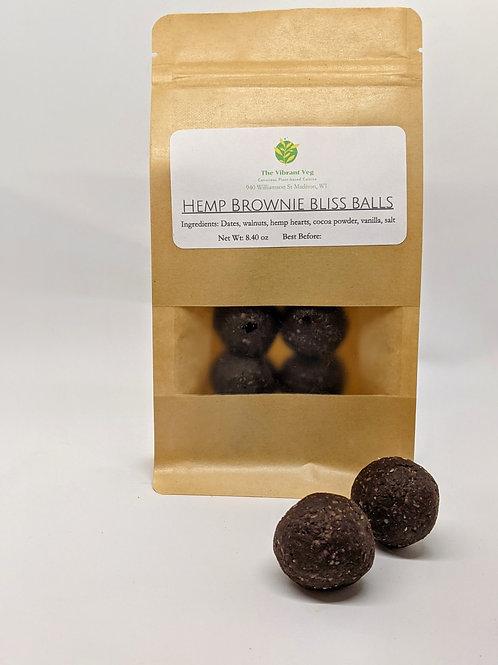 Hemp Brownie Bliss Balls