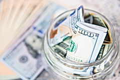 Dollar Bill w Jar