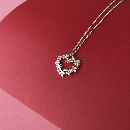 The Love Necklace Silver