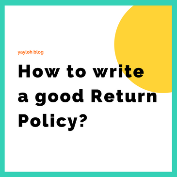 How to write a good return policy