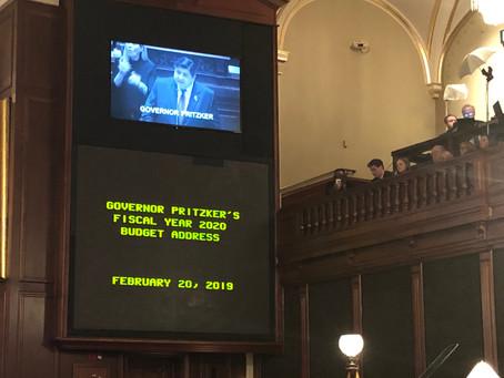 West Responds to Governor's Budget Address