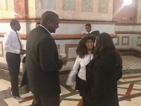 State Rep. Maurice West took Kennedy Students to the State Capitol on Thursday