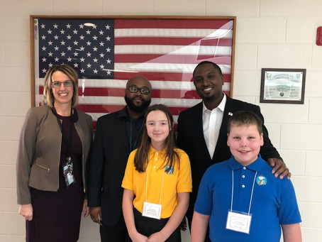 State Rep. Maurice West Visits Cherry Valley Elementary, Highlights Need to Invest in Education