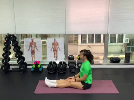 Hamstrings putting pressure on your lower back