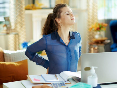 Productive and avoid pain during the pandemic