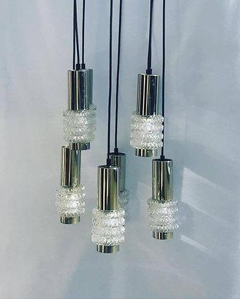MID-CENTURY CASCADE CHANDELIER Leuchtenwerk