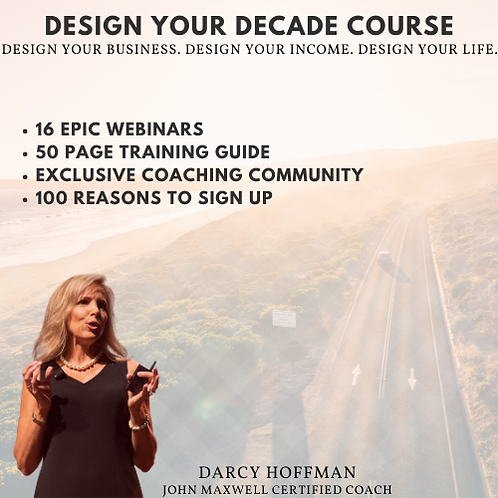 Design Your Decade Course