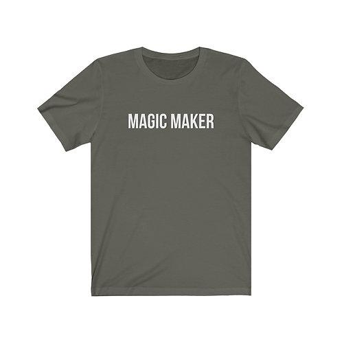MAGIC MAKER Unisex Jersey Short Sleeve Tee