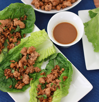 FAKE OUT, TAKE OUT | Chicken Lettuce Cups
