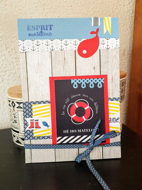 Carnet de notes Esprit Maritime
