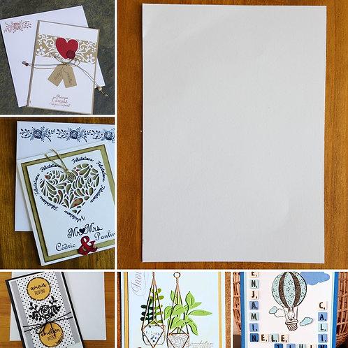 Carte simple format Carte Postale