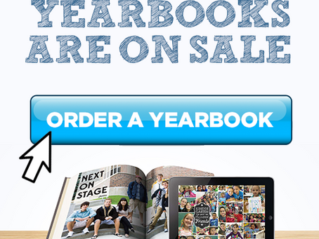 Yearbooks On Sale, Now!