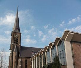 Kerk van Leunen, aanbouw van 1966